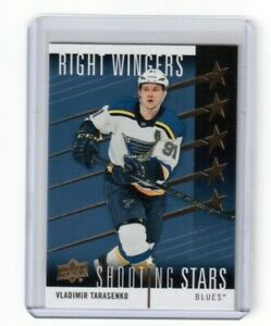 2019-20-Upper-Deck-Series-One-Shooting-Stars-Vladimir-Tarasenko-St-Louis-Blues
