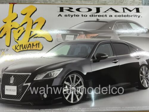Aoshima 08546 Rojam 21 Toyota Crown Athlete Kiwami 124 scale kit