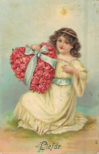 Angel-with-a-Flower-Hart-Vintage-Embossed-Postcard-Love-03-94