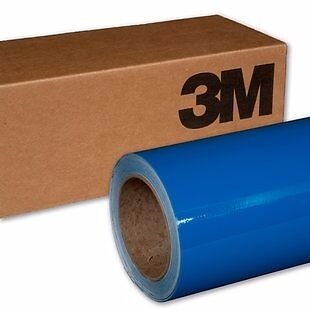 3M 1080 G377 GLOSS COSMIC BLUE Vinyl Vehicle Car Wrap Decal Film Sheet Roll