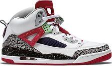 NEW NIKE AIR JORDAN SPIZIKE sz 8.5 WHITE POISON GREEN RED  BLACK shoes sneakers