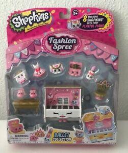 Shopkins Fashion Spree Gym Fashion Collection inc 8 Exclusives shopkins new