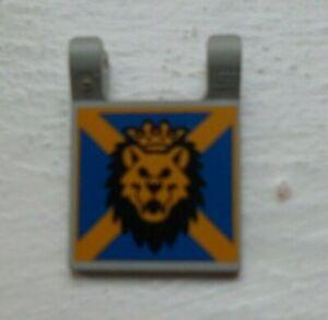 Lego Silver Lion Knights Armor X4 With Lion Head Pattern Castle Kingdom
