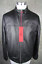 HUGO-BOSS-Luxury-Leather-Jacket-Laudin-L-Jacket-50-Black miniatura 1