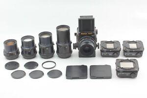 N-Nuovo-di-zecca-5-LENTE-Mamiya-RZ67-Pro-II-50mm-90mm-180mm-250-360-3-Film-Retro-Giappone