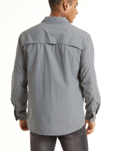 Men/'s Tactical Shirt Army Training Quick Drying Long Sleeve Sun Protection Tops