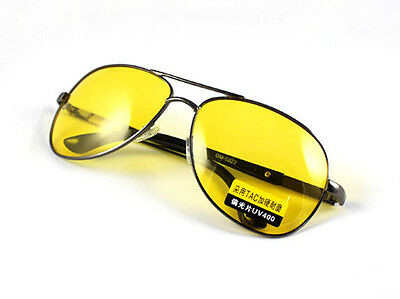 New Polarized UV Sunglasses Night Vision Driving Glasses Yellow lens #2