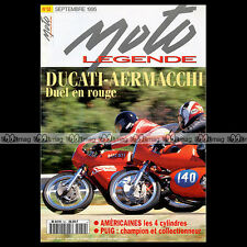 MOTO LEGENDE N°50 AERMACCHI 350 DUCATI SCOTT 600 HENDERSON CLEVELAND ACE PUIG