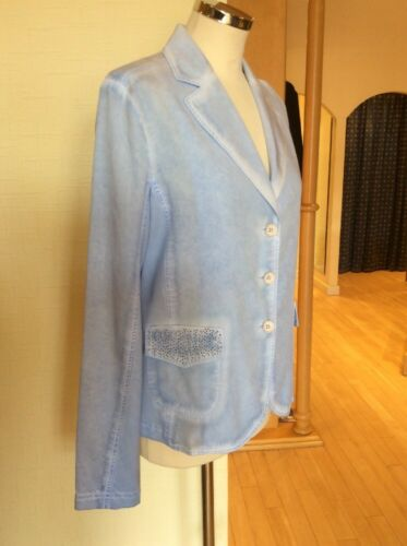 Just 14 White Jacket Poches Maintenant Taille 149 € Bleu Bnwt clair Dormeuses xS6xtwrAq