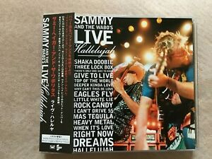 SAMMY-HAGAR-Live-Hallelujah-2003-CD-Japan