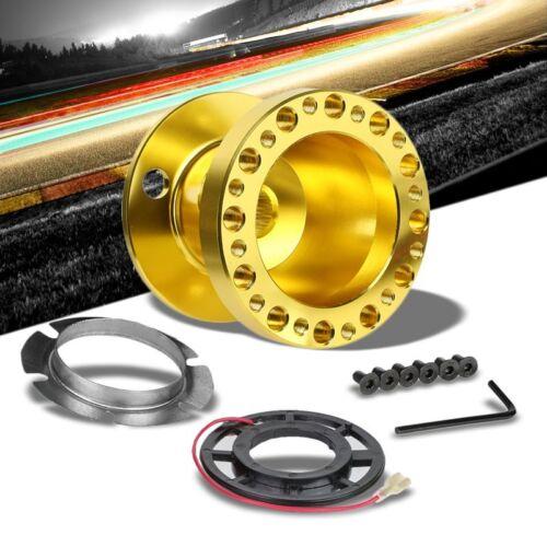 Gold Aluminum 6-Hole Steering Wheel Hub Adapter For Integra DC2//Civic EG EH EJ