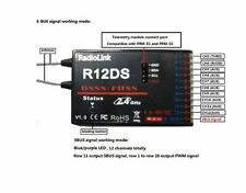RadioLink R12DS 12CH 12 Kanal-Empfänger 2.4Ghz für AT10 AT10II