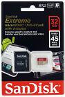 SanDisk 32GB Extreme microSD memory card Class 10 GoPro Go Pro camera *Original*