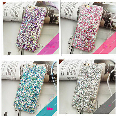 Hot Full Bling Glitter Paillette Sequin Soft TPU Phone Cover Case for iPhone 6 7