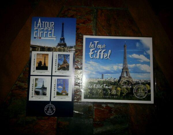 """2 Collectors """" Tour Eiffel """" Annee 2017 - Neufs - Ttb RafraîChissant Et BéNéFique Pour Les Yeux"""