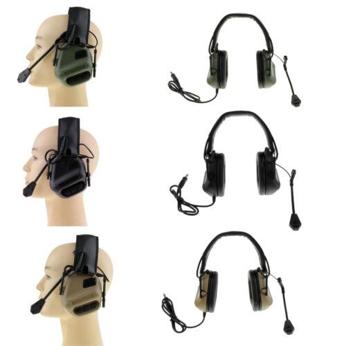 No Noise Reduction Tactical Shooting Headset Sport Hunting Earmuff Headphone