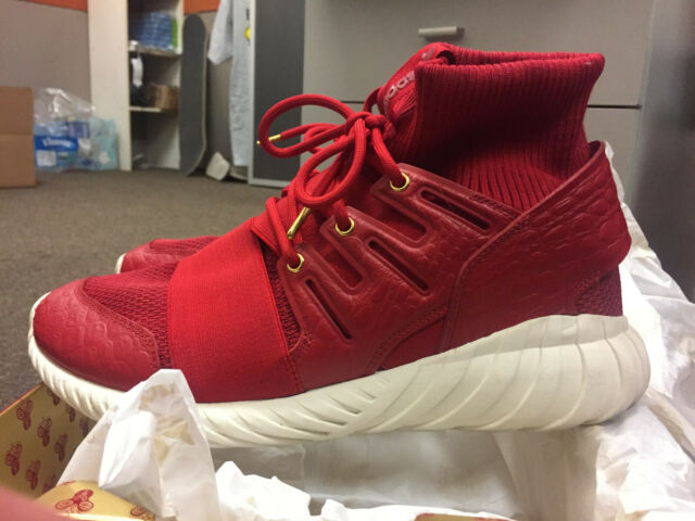 huge selection of 259fe 2b0ad 2016 Adidas RED & GOLD Tubular Doom Chinese New Year CNY men's size 10.5