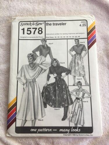 A Stretch /& Sew ~ Vintage Adult Patterns ~ 39 Listed ~ U-PICK ~ NIP ~ 5512