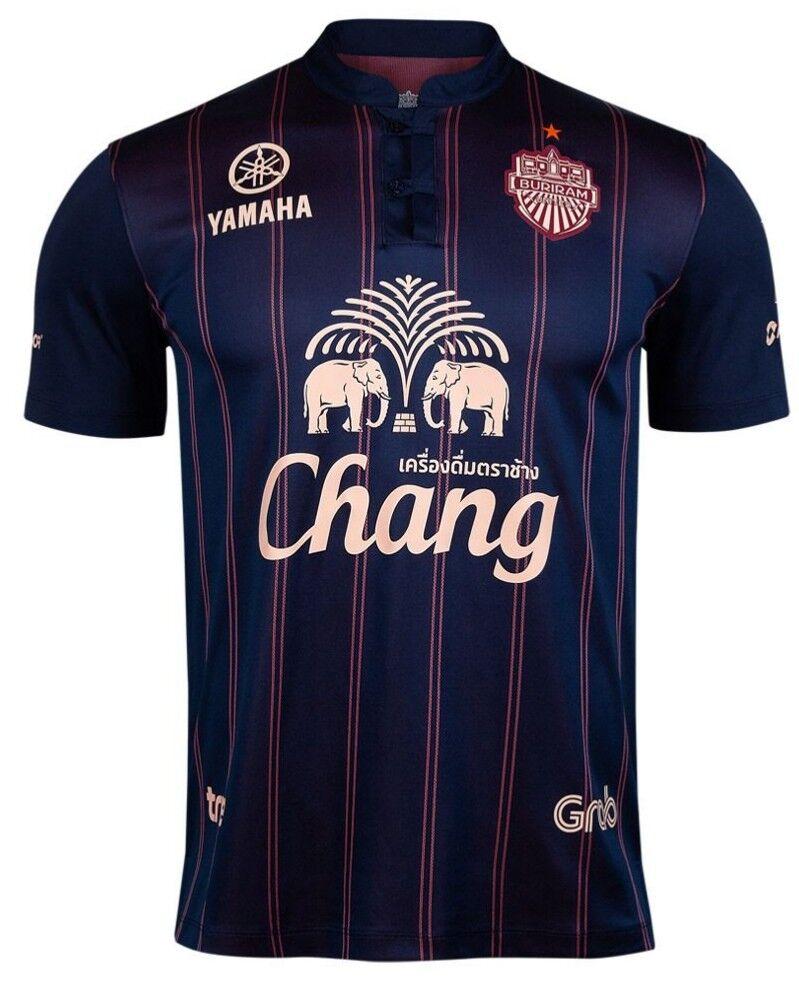 Authentic 2019 Buriram United Thailand Football Soccer League Jersey Shirt bluee