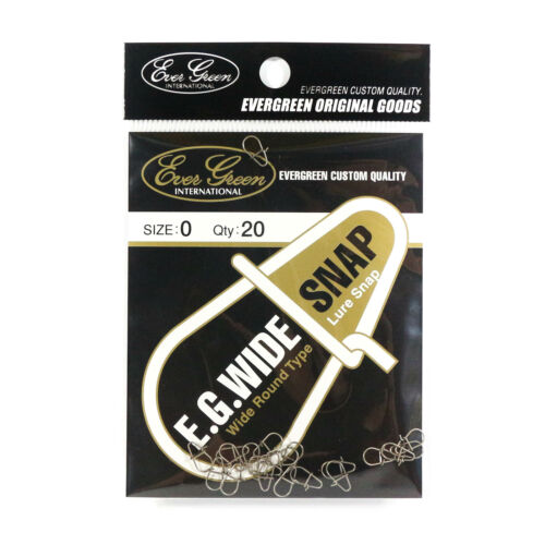 Evergreen Lure Wide Snap Size 0 Extra Small 8004