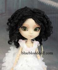 "1/3 bjd 9-10"" doll brown color curly wig Pullip Taeyang Soom ID W-182XL"