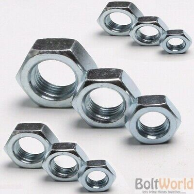 8mm Pack of 10   M8 Bright Zinc Plate T NUTS 4 Prong 16mm long  BZP