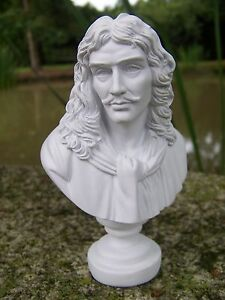 RE0049-BUSTE-FIGURINE-STATUETTE-REPRODUCTION-MOLIERE-ECRIVAIN-THEATRE