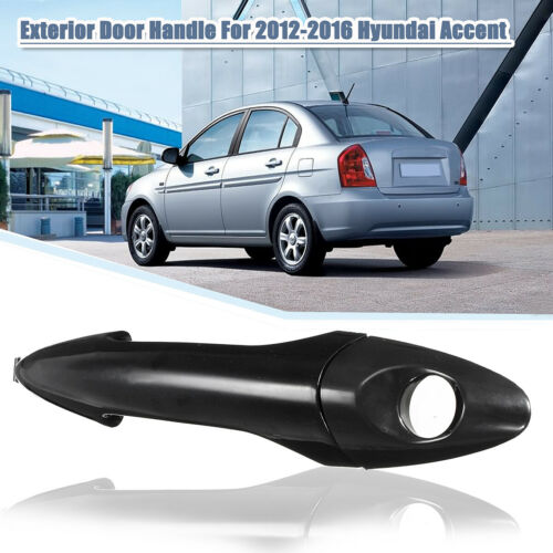 Front Right Exterior Door Handle Primed Plastic For Hyundai Accent 2012-2016