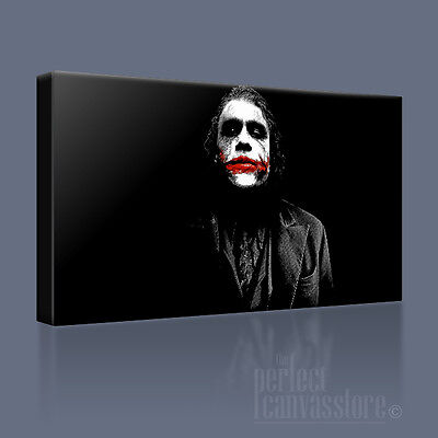 BATMAN THE DARK KNIGHT AWESOME ICONIC CANVAS ART PRINT PICTURE Art Williams