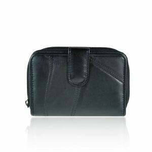 New-Women-039-s-Real-Leather-Purse-Designer-Style-Girls-Wallet-Coin-Holder