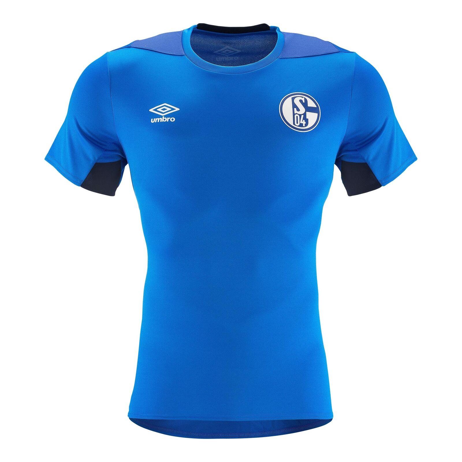 Umbro FC Schalke 04 Herren Training Training Training Jersey 18 19 - 79602U dunkelblau    Exzellente Verarbeitung  7a028f