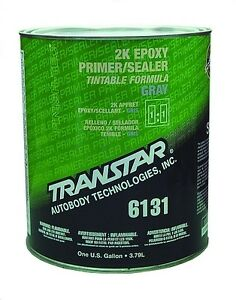 transtar 6131 6141 6714 2k epoxy gray primer sealer. Black Bedroom Furniture Sets. Home Design Ideas