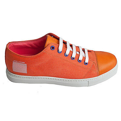 Marc Jacobs canvas sneakers, canvas leather sneakers