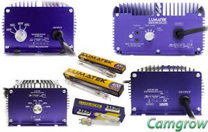 Details about Lumatek - Ultimate Pro 600W &1000 400V & CMH Ballasts 315W &  630W Plus Bulbs
