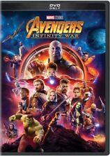 Avengers Infinity War (dvd Marvel Studios 2018) Region 1