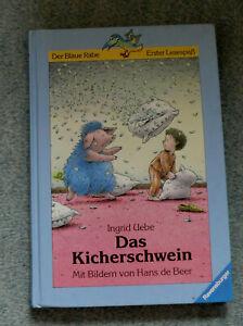 Ingrid Uebe Das Kicher schwein Mit Bildern von Hans de Beer - Hannover, Deutschland - Ingrid Uebe Das Kicher schwein Mit Bildern von Hans de Beer - Hannover, Deutschland