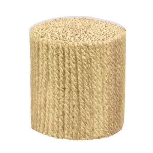 Hilado de lana de gancho de cierre-trimmits-Beige 400 Hebras 3ply Uso En Lona 5hpi