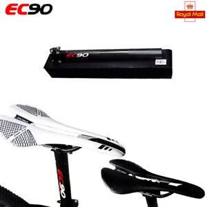 MTB Carbon Seat Tube Gel Leather Seat Clamp and EC90 MTN Road Bike Saddle