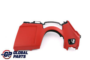 BMW Z4 Series E89 Cover Instrument Panel Bottom Trim Driver's Side Right Red