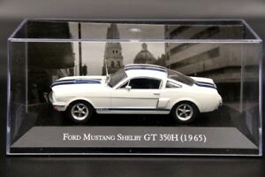 ALTAYA-1-43-Ford-Mustang-Shelby-Gt-350-H-1965-Modelos-Diecast-coche-coleccion-Blanco