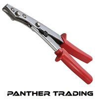 Silverline Hardened Hand Nibbler Sheet Metal Plastic Tin Snips Cutter - 255314