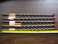 One (1) Irwin Mainbor Auger 12 Wood Drill For Hand Brace & Electric Drill Usa