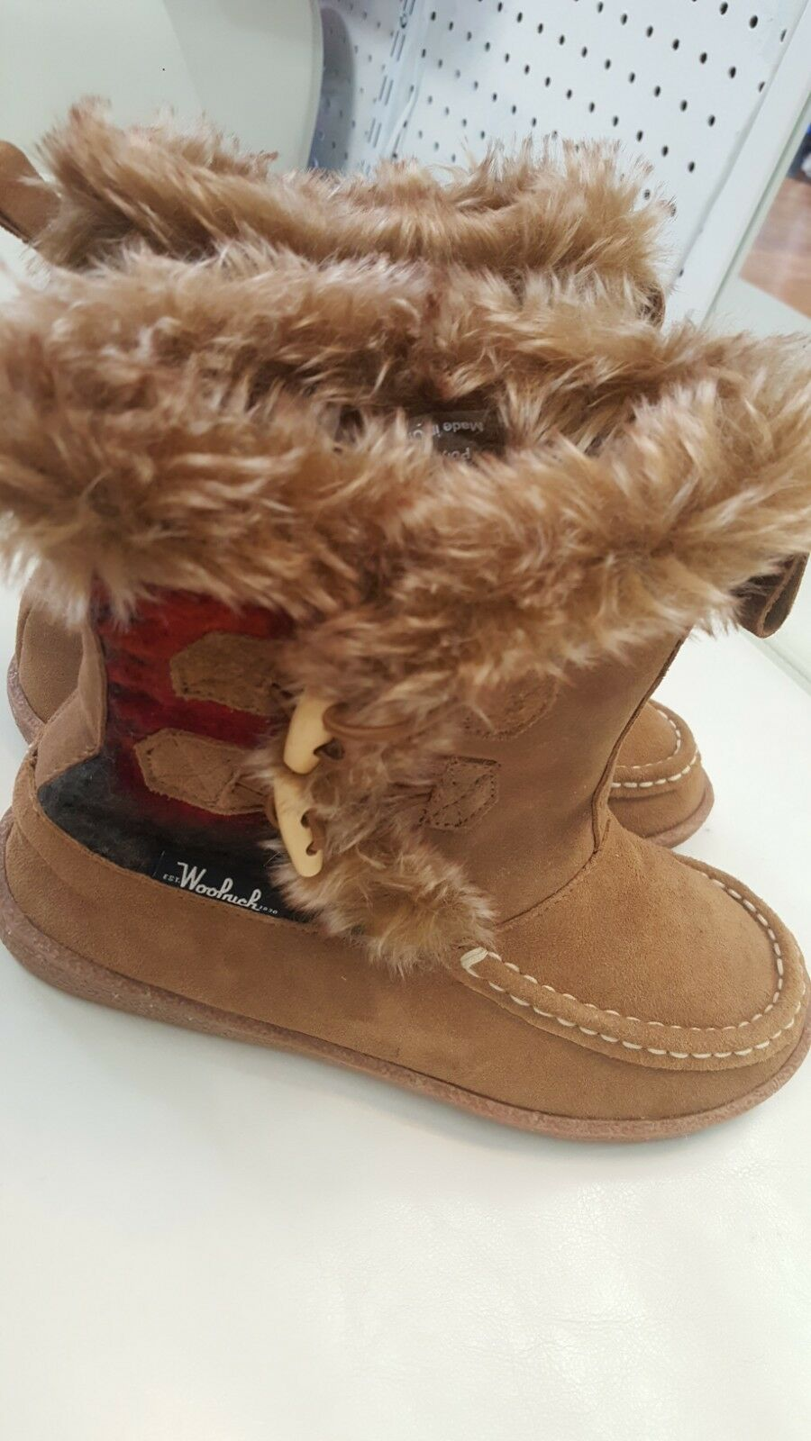Woolrich Womens Pine Creek Ii Ii Ii Brown Snow Boots Size 7 (11926) fc0e99
