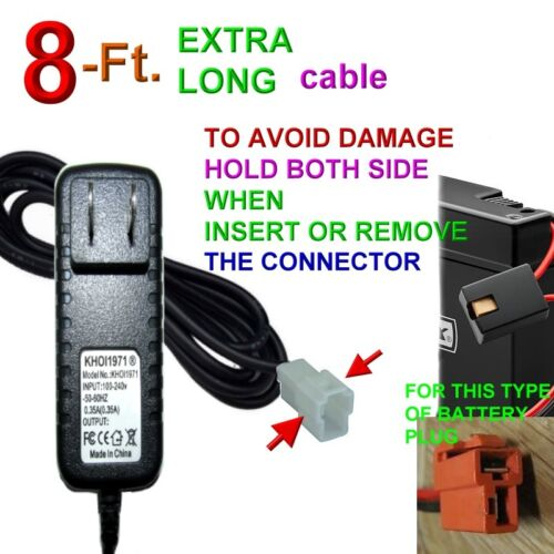 Charger AC adapter 8=4 17034 17033 17044 Huffy BMW X6 Powered ride on 6V Battery