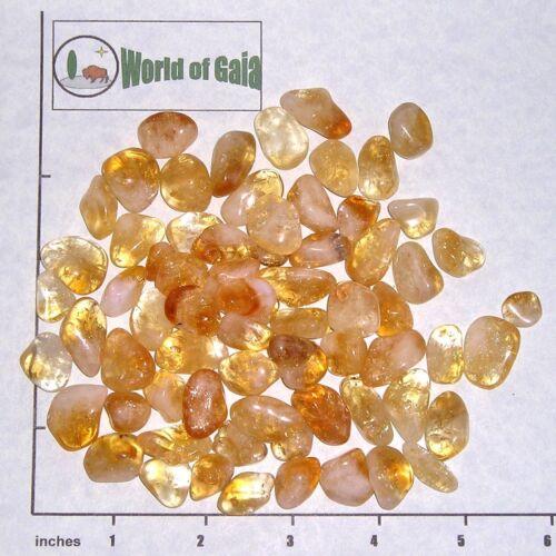 tumbled 1//2 lb bulk stones quartz golden CITRINE /'A/' grade xs-sm