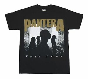 Pantera this love t shirt s m l xl 2xl brand new for Love notes brand shirt