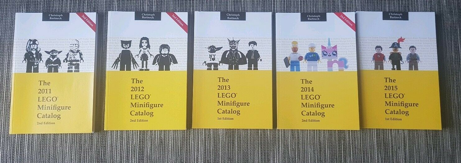 Lego Minifigure Catalog 2011-2015 Christoph Bartneck