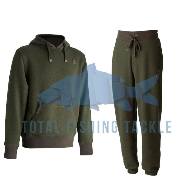 Trakker Terra Felpa  Pile Jogging Pantaloni Lunghi da verde Duo Tono Nuovo