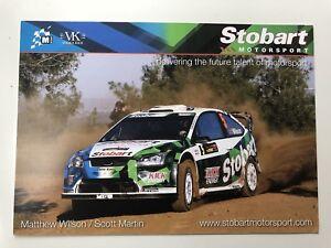 MATTHEW-WILSON-amp-SCOTT-MARTIN-STOBART-M-SPORT-FORD-FOCUS-WRC-OFFICIAL-PHOTOCARD