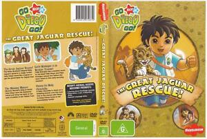 *GO DIEGO GO - THE GREAT JAGUAR RESCUE*,  DVD,  NICK JR.